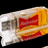 USB with liquid